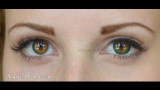 Цветные контактные линзы ADORE на карих глазах. Lenses ADORE on dark eyes. HD(Подбираете цветные линзы, но затрудняетесь в выборе цвета? Это видео обязательно Вам поможет. Вы уведите,..., 2015-07-26T20:08:37.000Z)