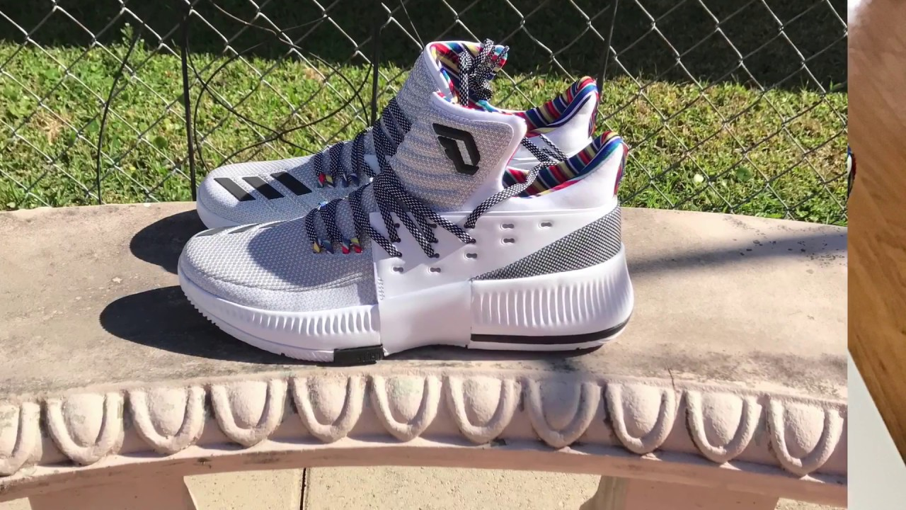 9fb0f96a646 DAME 3 BHM ARTHUR ASHE ON FOOT AND DETAILED LOOK - YouTube