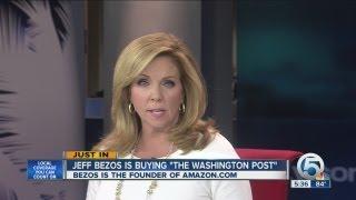 Jeff Bezos is buying 'The Washington Post'