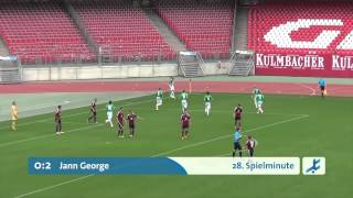 1.FC Nürnberg II - SpVgg Greuther Fürth II (Regionalliga Bayern, 15. Spieltag)