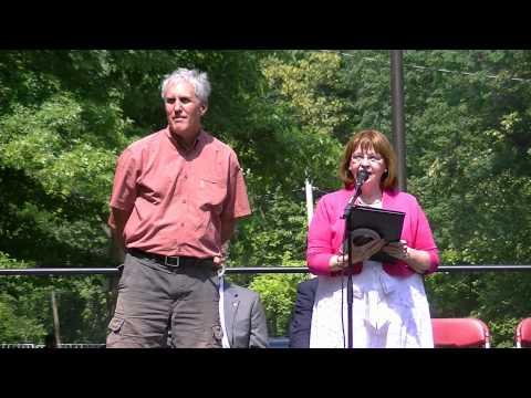 Cleveland Cultural Gardens award landscape architect Jim McKnight
