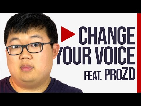 Voice Actor Shares Secrets To Changing Your Voice (ft. ProZD