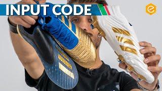 ADIDAS INPUT CODE pack - Nuovi colori per Predator, COPA e X