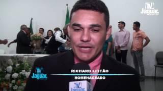 Richard Leitão agradece aos limoeirenses pela cidadania