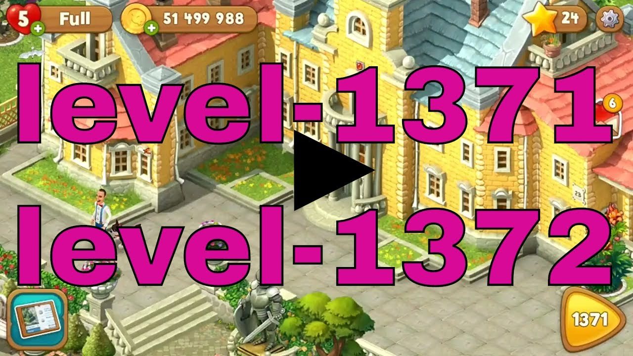 Gardenscapes best level 1371 level 1372Gardenscapes is a garden