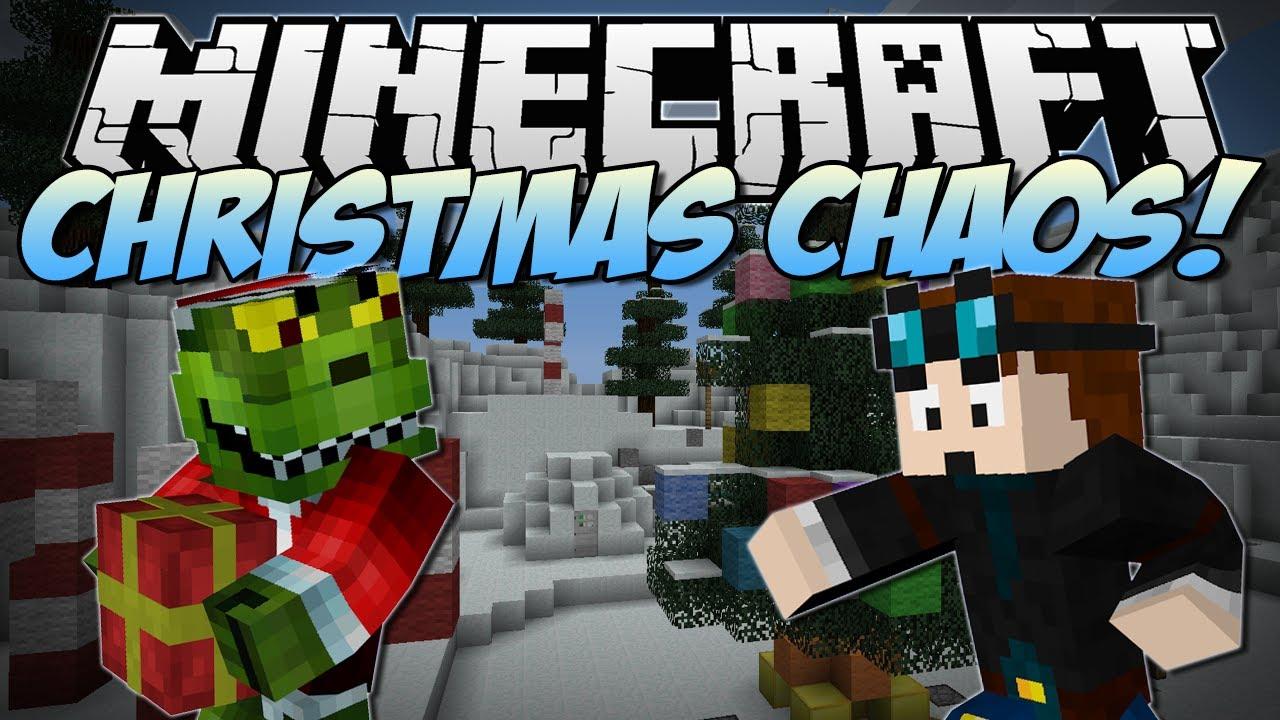 Minecraft | CHRISTMAS CHAOS! (Help Santa and Save Christmas ...