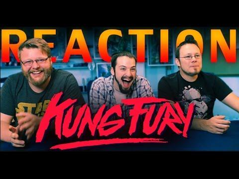 Kung Fury REACTION!!