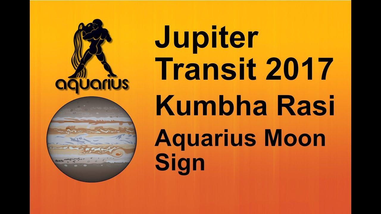 Jupiter transit 2017 kumbha rasi aquarius moon sign