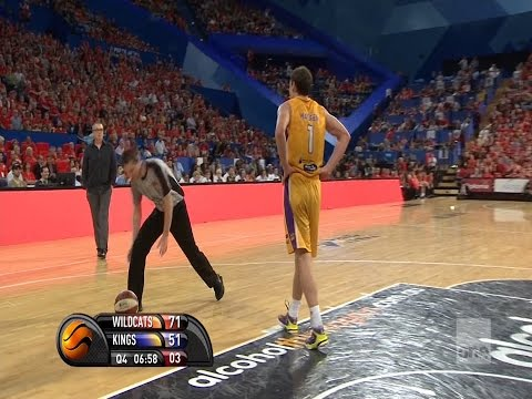 Ben Madgen Double Flopping Tech Foul Ejection