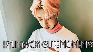 HYUNGWON CUTE MOMENTS