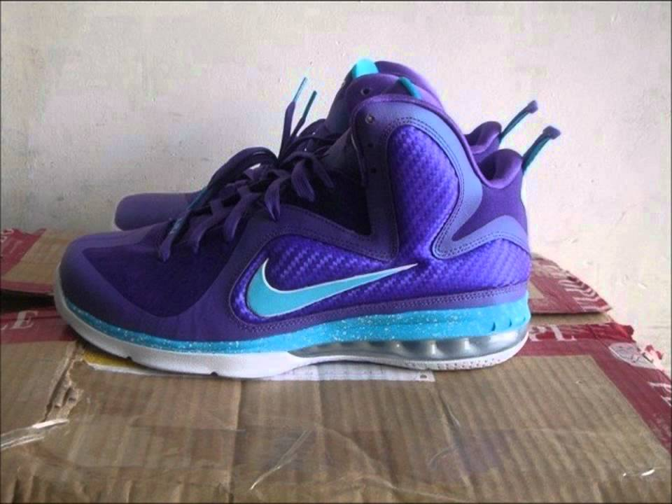 4232edc6c16 Nike Lebron 9 Summit Lake Hornets Replicas - Fake First Look.mp4 ...