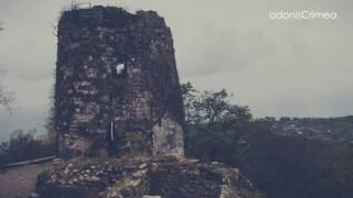 Анакопийская крепость, Абхазия, Новый Афон(Анакопийская крепость — уникальное сооружение V века на Иверской горе в городе Новый Афон, построенное..., 2017-01-12T12:15:14.000Z)
