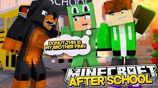 Minecraft - AFTER SCHOOL - LITTLE LIZARD'S LONG LOST BROTHER!?