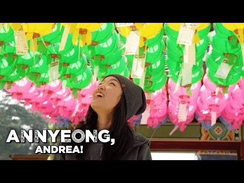 Buddhist Temples of Calm in a Frantic Land | Annyeong, Andrea!