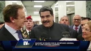 Carla Angola le pregunta a Maduro si va a visitar a sus sobrinos  - EVTV 09/27/18