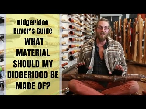 Buy A Didgeridoo Guide - 7 Of 11 -  What Material Should My Didgeridoo Be Made Of