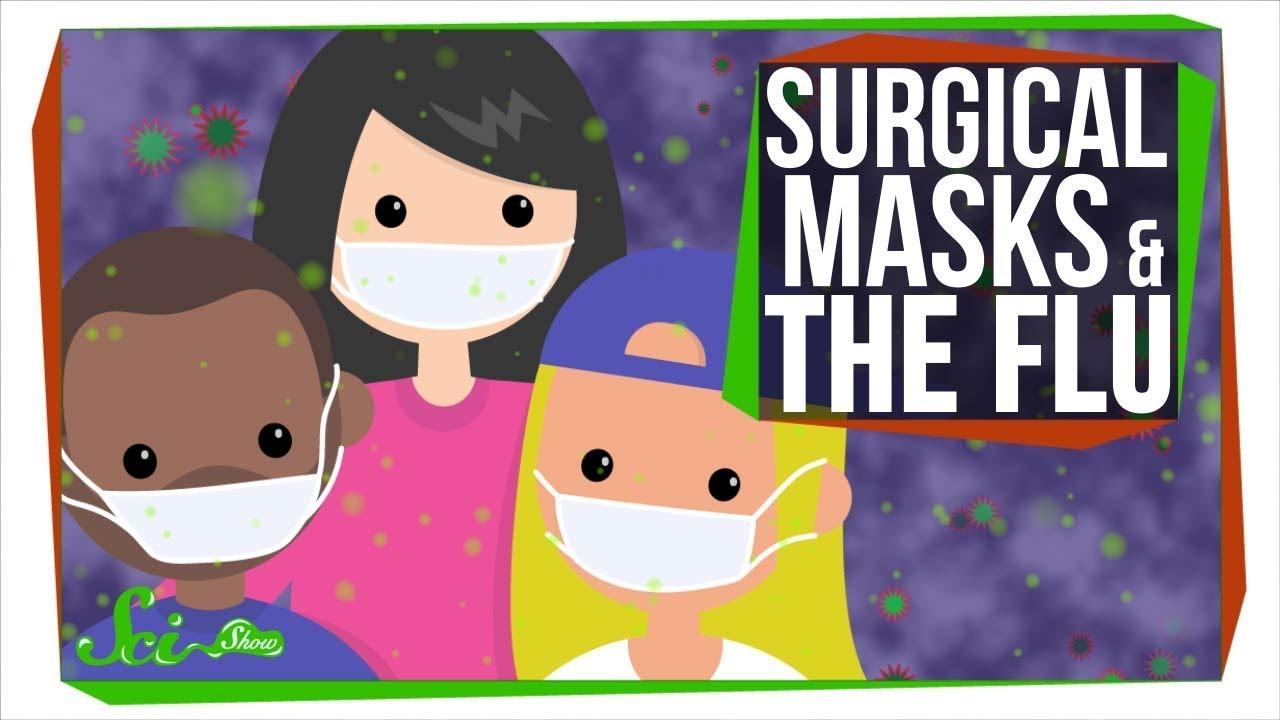 surgical mask flu