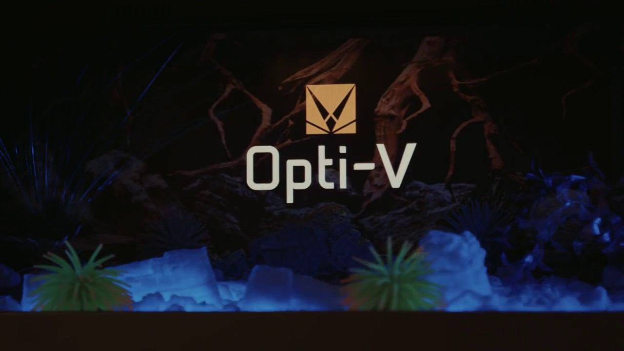 dimplex opti v aquarium vfa2927 youtube