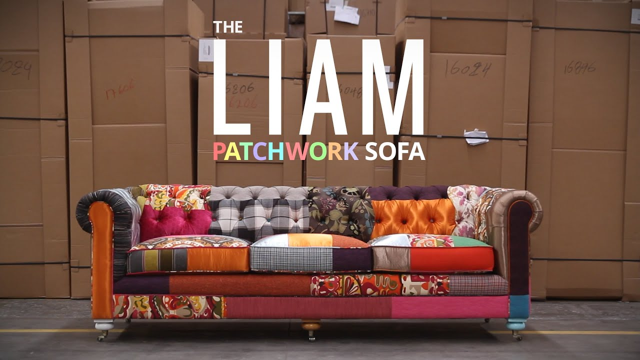 Patchwork Sofa Liam Patchwork Sofa Yt Ad Youtube