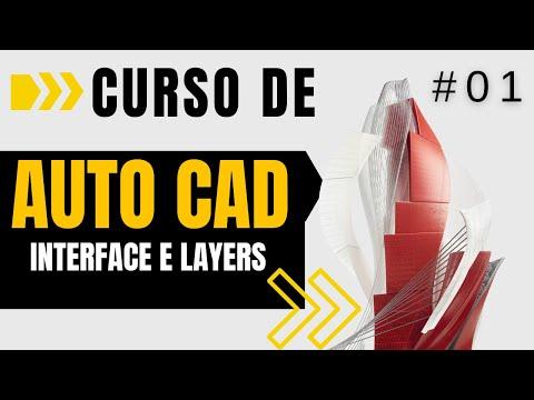 Curso de AutoCAD #01 - Interface e Layers | Planta Baixa 2D no AutoCAD 2017