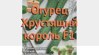 Огурец обыкновенный Хрустящий король F1 🌿 обзор: как сажать, семена огурца Хрустящий король F1