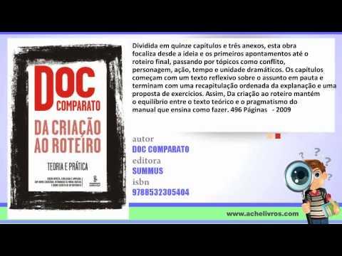 """resenha-do-livro:-""""da-criaçao-ao-roteiro"""".-doc-comparato-site/blog:-achelivros.com"""