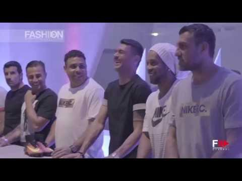 "Ronaldo, Zambrotta, Figo, Cannavaro, Maldini, Ronaldinho, Vieri at the ""Science of Speed"" in Milan"