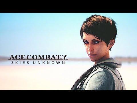 ACE COMBAT 7 SKIES UNKNOWN - O Início de Gameplay, em Português PT-BR!