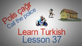 Learn Turkish Lesson 37 - Emergencies