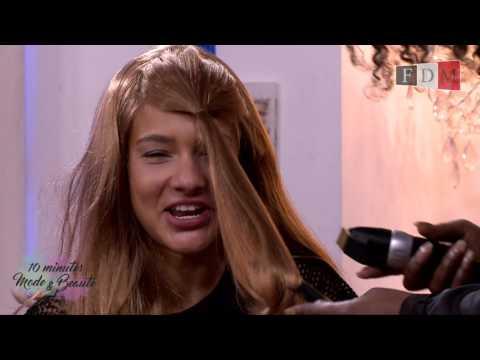 Comment se couper une frange soi-même avec Envy Deladyd - 10 minutes Mode & Beauté de FDMTV