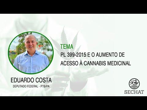 """""""PL 399-2015 e o aumento de acesso à Cannabis medicinal"""" - Com Deputado Federal Eduardo Costa"""