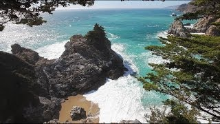 MAGICAL Mcway Cove Unlimited Length HD Nature Video Big Sur Screensaver 1080p