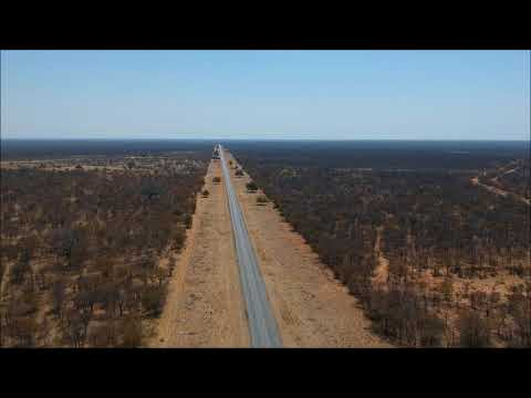 Francistown to Nata (drone footage only)