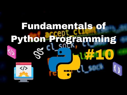 Fundamentals of Python Programming (Implementing Python Dictionaries)