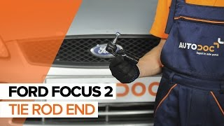Tie rod end installation FORD FOCUS: video manual