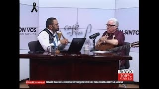 Luis Enrique Mejía Godoy habla sin tapujo sobre su música y el gobierno