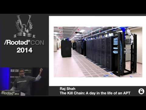 Raj Shah - The Kill Chain: A day in the life of an APT [Rooted CON 2014]