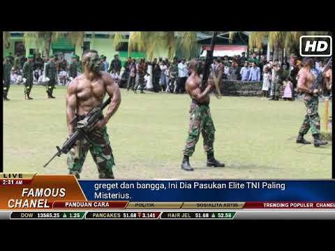 greget dan bangga, Ini Dia Pasukan Elite TNI Paling Misterius.