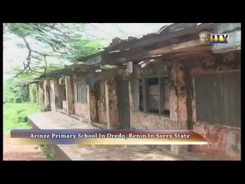 Arinze Primary School In Oredo, Benin In Sorry State
