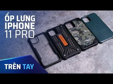Trên tay các ốp lưng iPhone 11 Pro