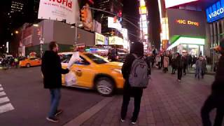 Jaywalking is rampant in NYC but these people should get an award! ...