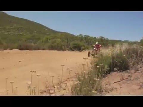 Honda Trx700xx Baja Film Shoot