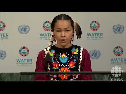 Water Advocate Autumn Peltier Addresses UN at 13-years Old