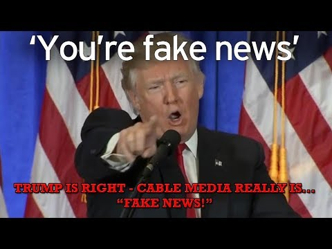 """Trump is Right - Cable Media Really Is """"Fake News"""" - Now Smearing Jill Stein"""