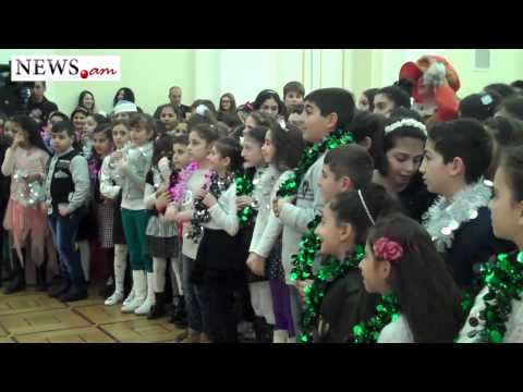 President's office gives gifts to Yerevan schoolchildren