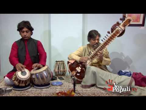 Partha Bose, sitar & Indranil Mallick, tabla