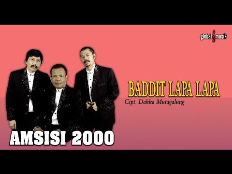 AMSISI 2000 - Baddit Lapa-Lapa - Cipt. Dakka Hutagalung (Official Lyric Video)