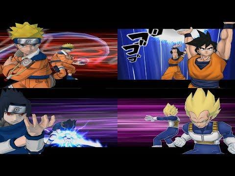 Battle Stadium D.O.N - All Ultimate Jutsu Special Ougi And Burst Mode 1080p 60 FPS