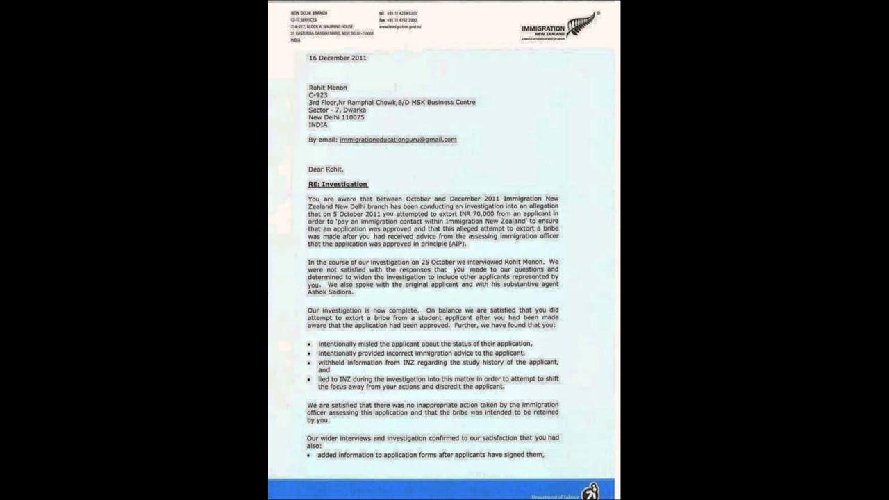 Warning letter rohit menon ex visa officer new zealand high warning letter rohit menon ex visa officer new zealand high commission spiritdancerdesigns Gallery
