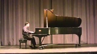 Yang Ding plays Prokofiev Piano Sonata No. 7 3rd mov.